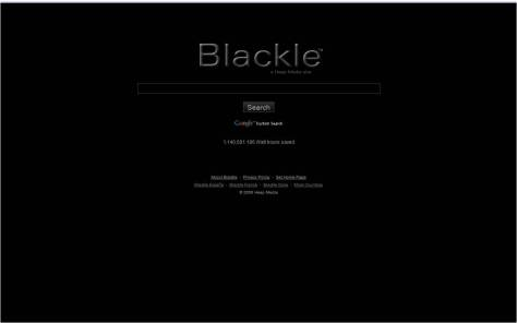 Does it help to use Blackle?